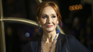 JK Rowling returns award from group linked to Kennedy family