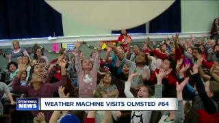 Weather Machine Visits Olmsted #64