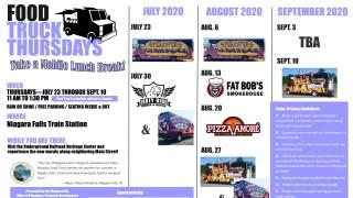 Food Truck Thursdays in Niagara Falls are back!