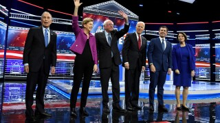 Poll: Six Democratic presidential candidates lead Donald Trump by double-digits in New York state