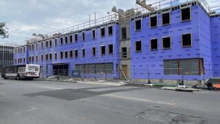 Construction at 201 Ellicott Street
