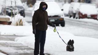 Some parts of the US could go from wildfires to snow this week
