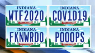 These are some of the personalized license plates Indiana rejected in 2020