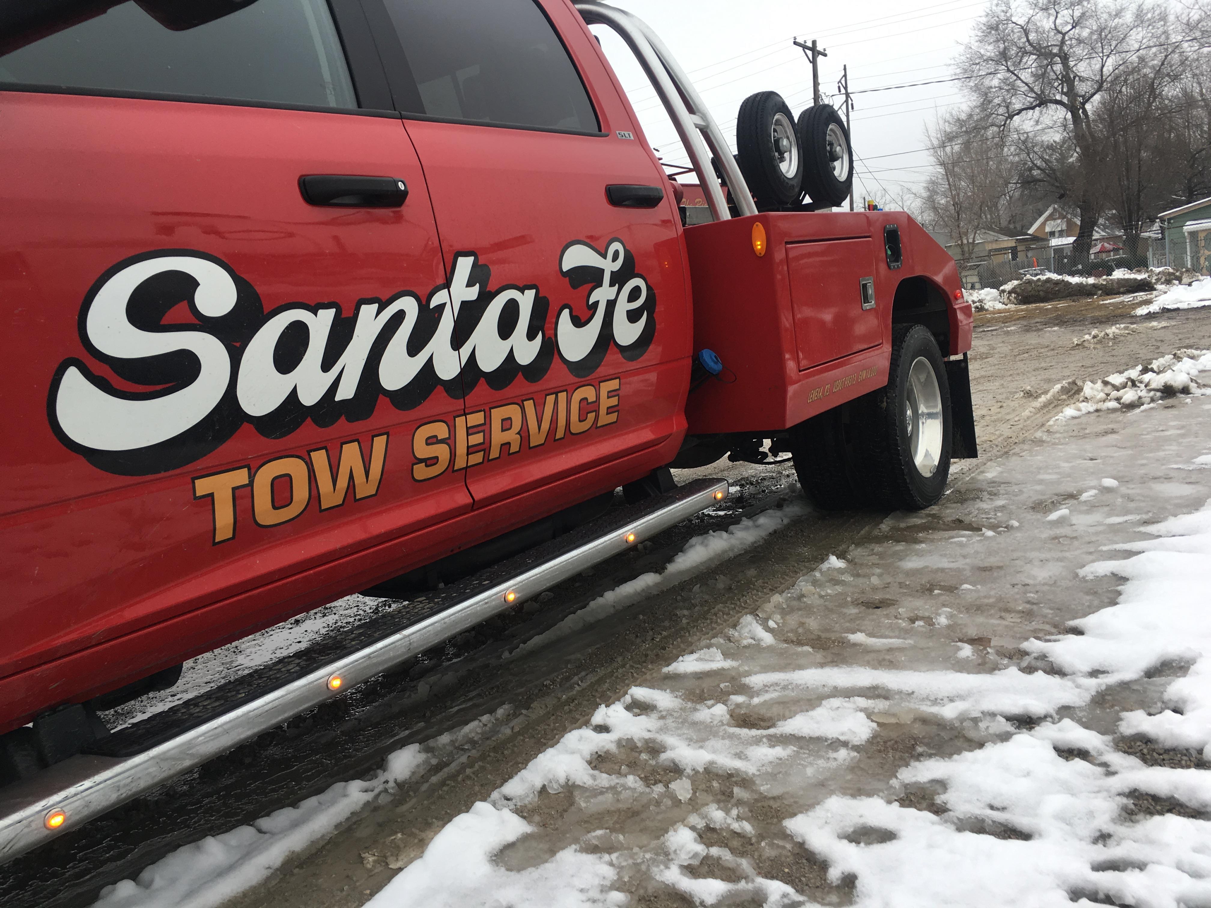 Santa Fe Tow >> Ahead Of Incoming Snow Storm Tow Truck Companies Urge