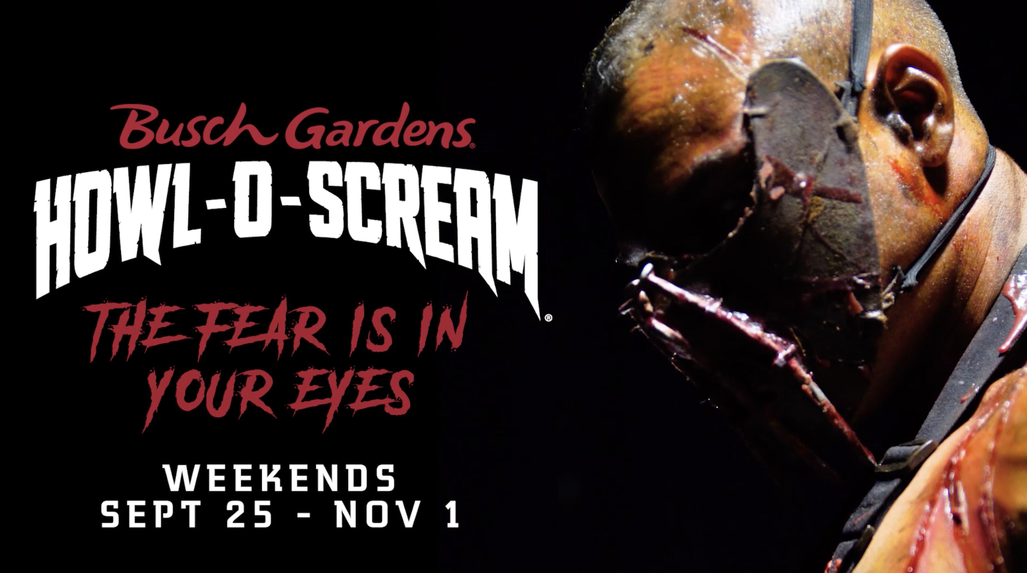 howl o scream 2020 - Busch Gardens Howl O Scream What Rides Open