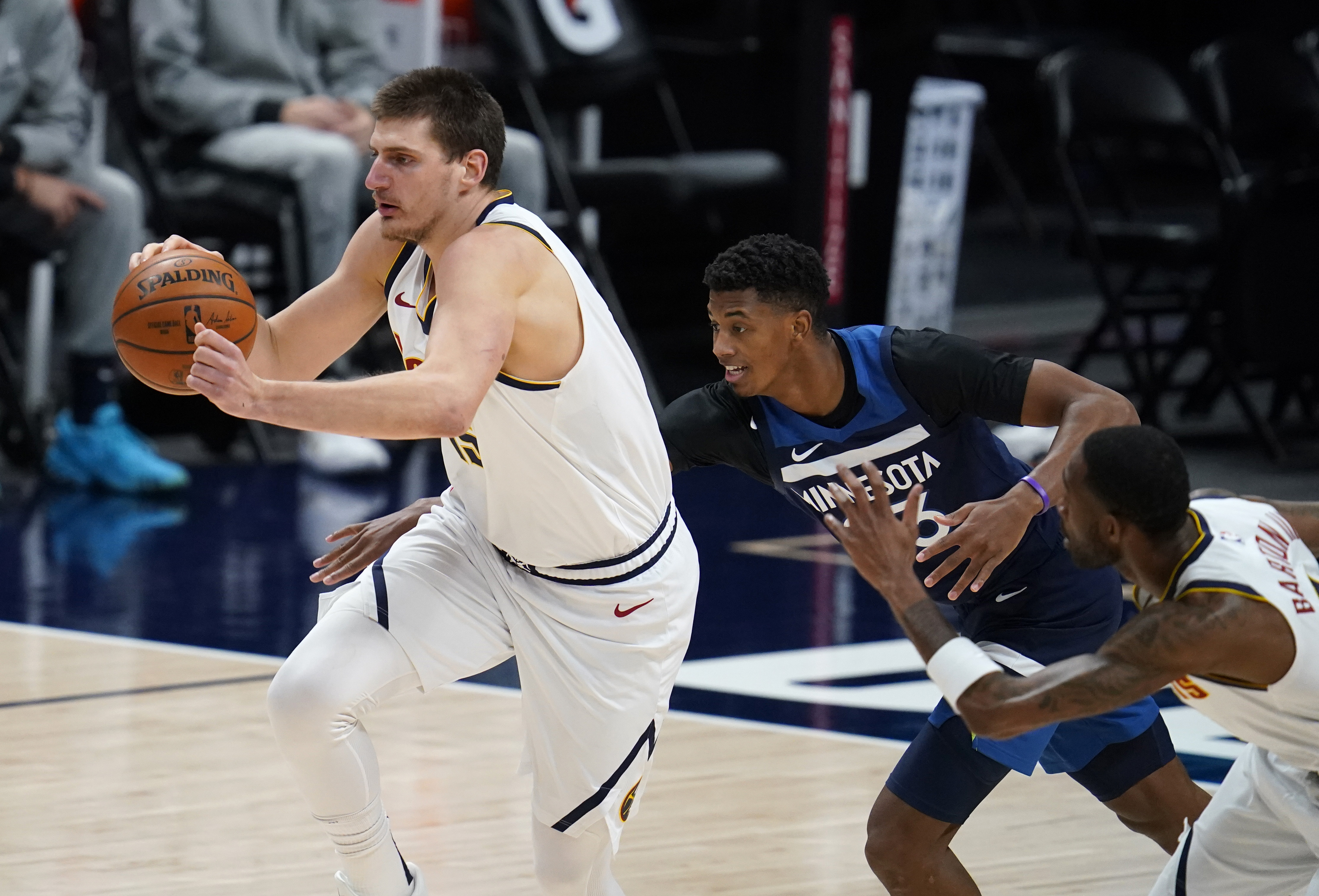 Jokic, Nuggets regroup to rally past Timberwolves 123-116