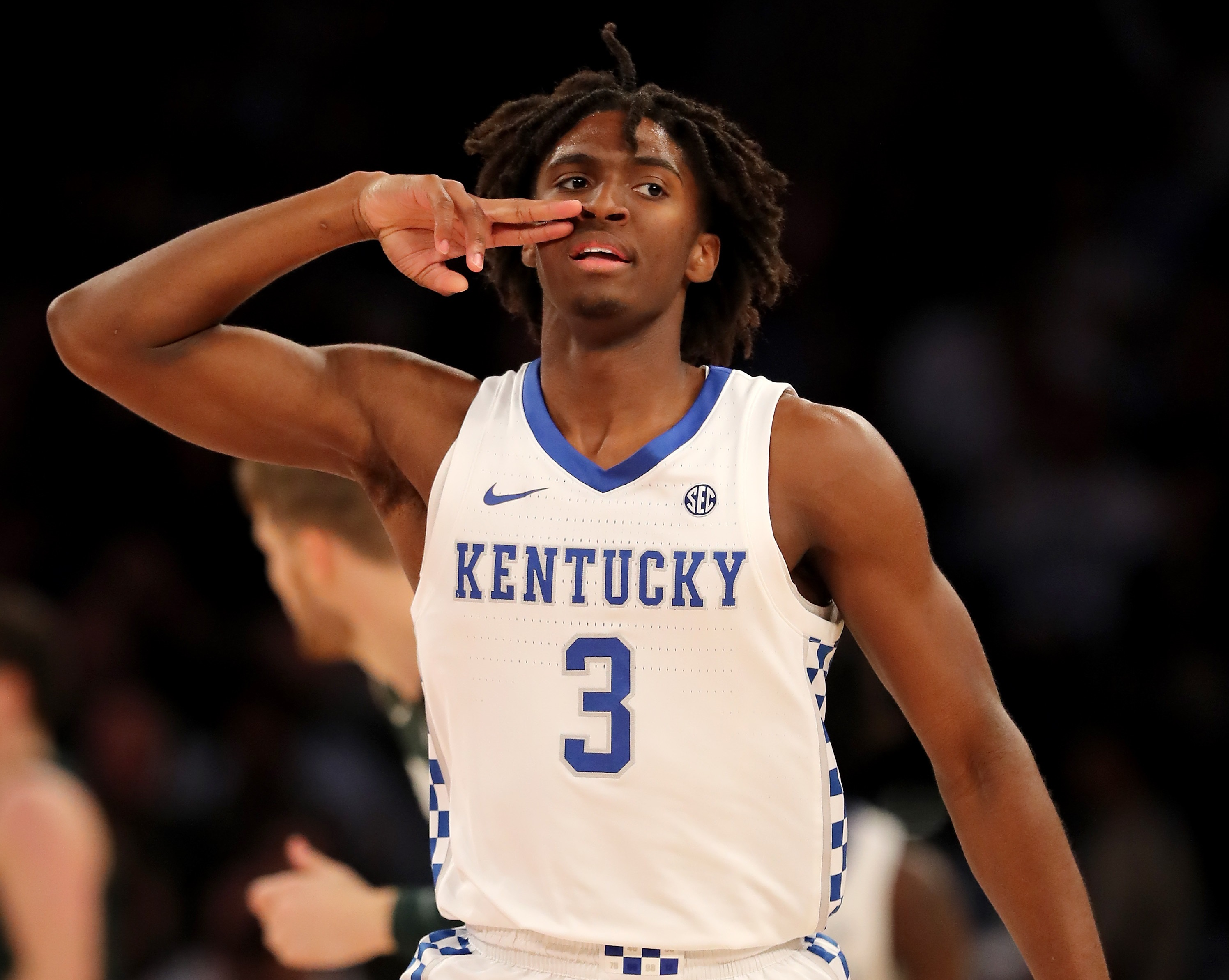 Tyrese Maxey Leads No 2 Kentucky Past No 1 Michigan State