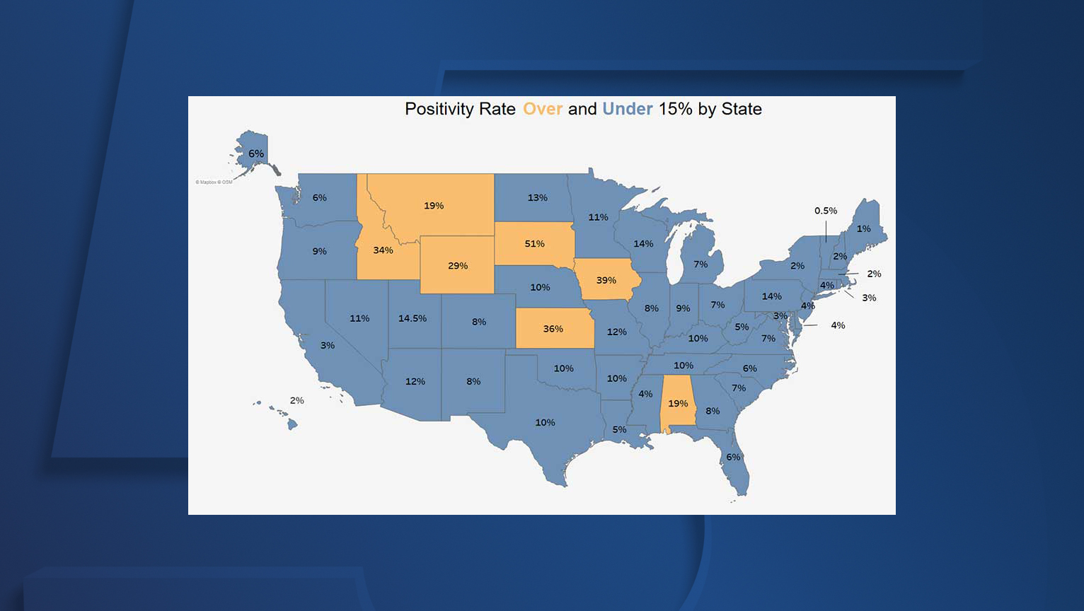 Nov 6 Ohio Department Of Health Releases Updated Travel Advisory Map With 7 States