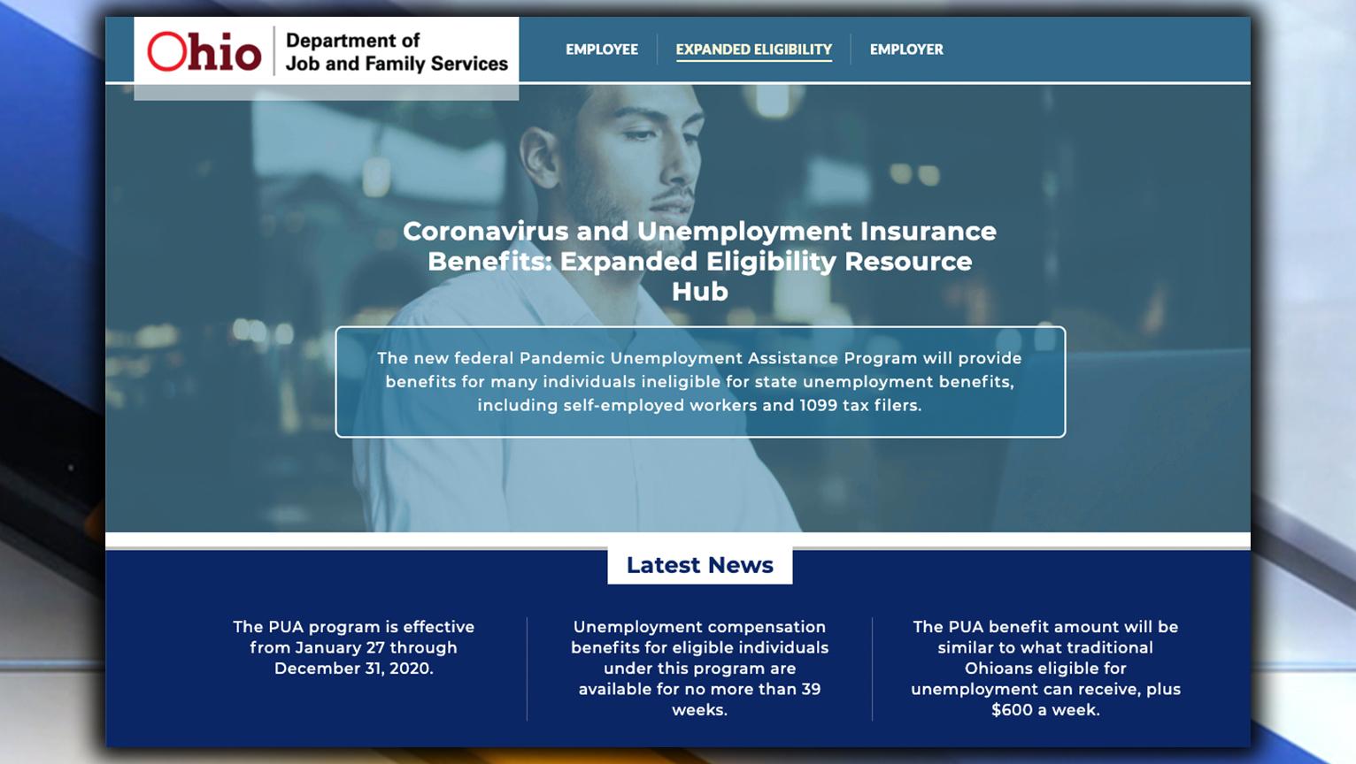 Ohio Expanding Unemployment Benefits Eligibility Through Federal