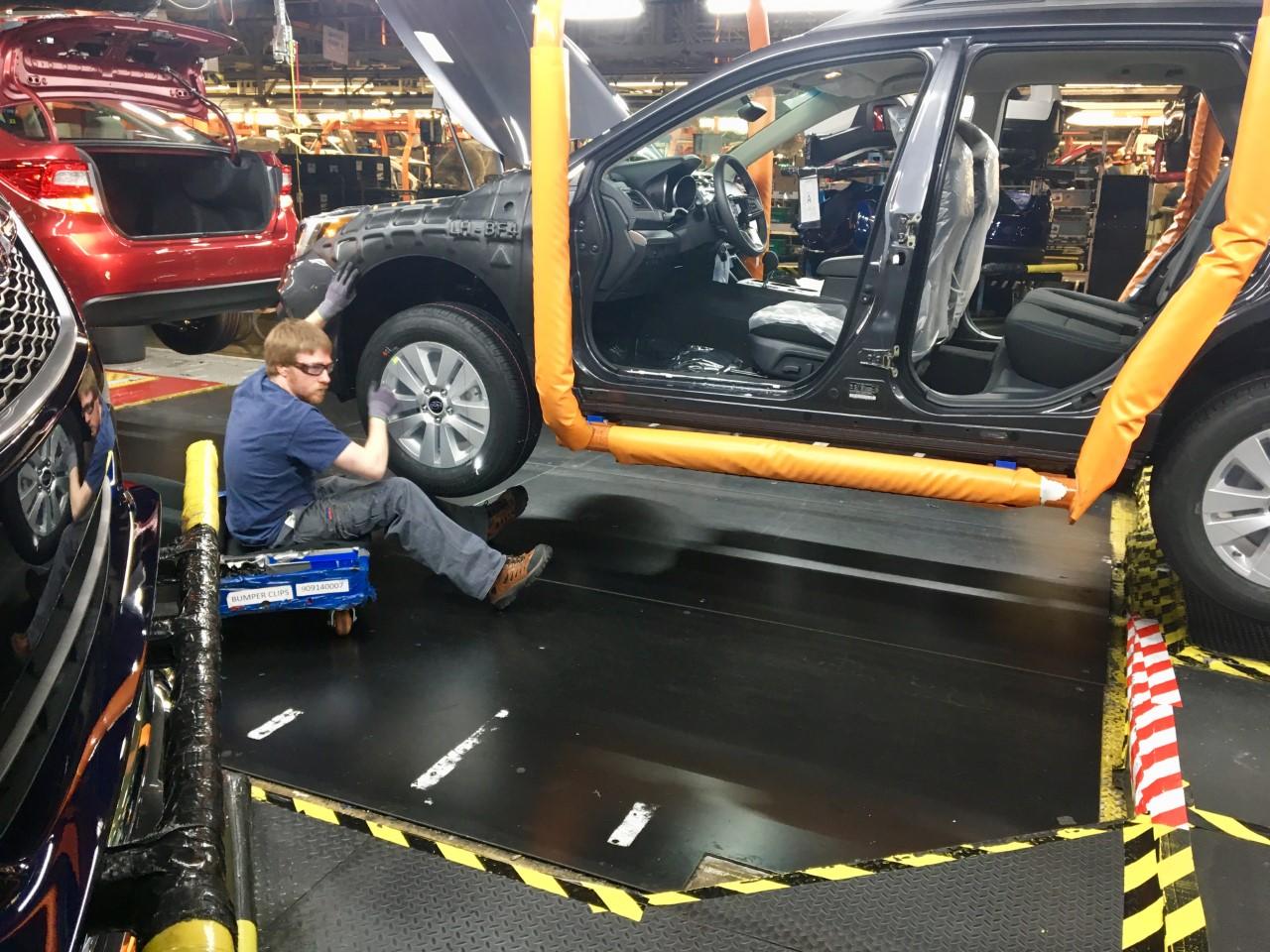 Subaru Seeks Dedicated Workers At Lafayette Plant