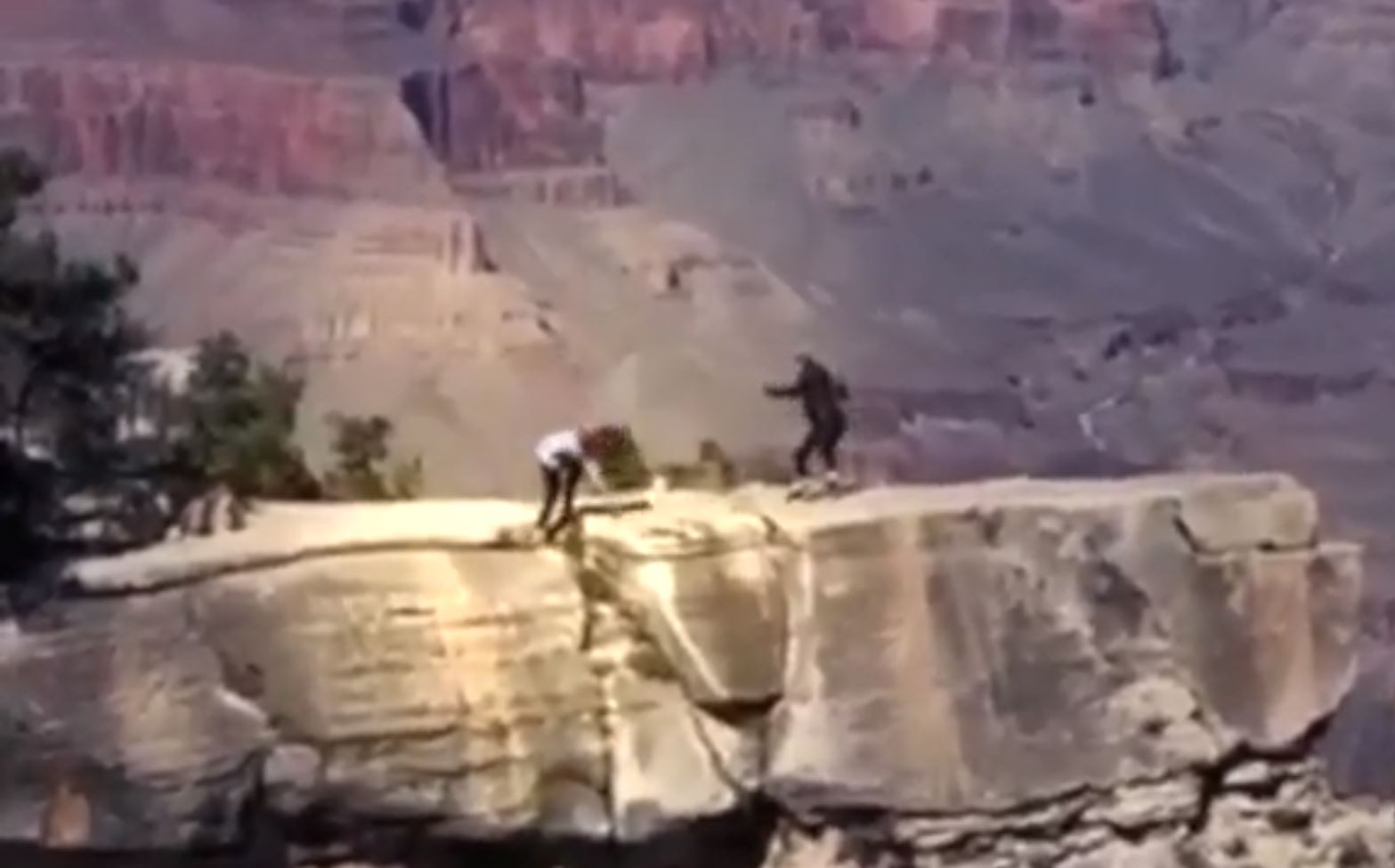 Near Fall Caught On Video Is A Shocking Reminder Of Safety