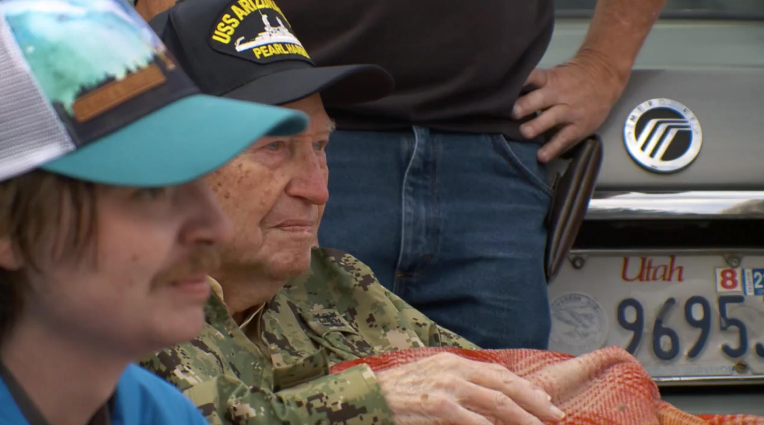 Utah community celebrates 100th birthday of Pearl Harbor survivor