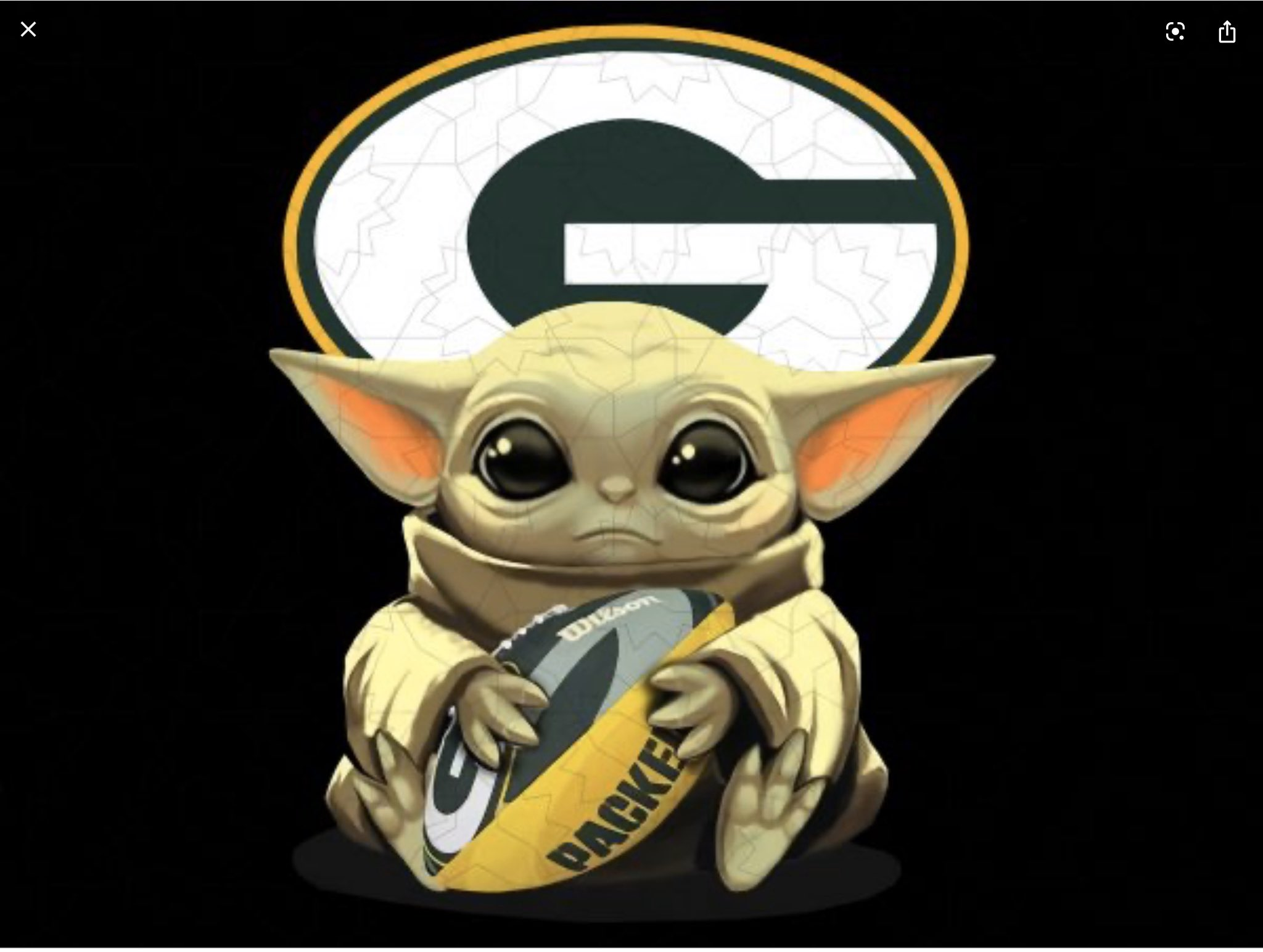 Baby Yoda Might Be A Packers Fan According To Disney S Ceo