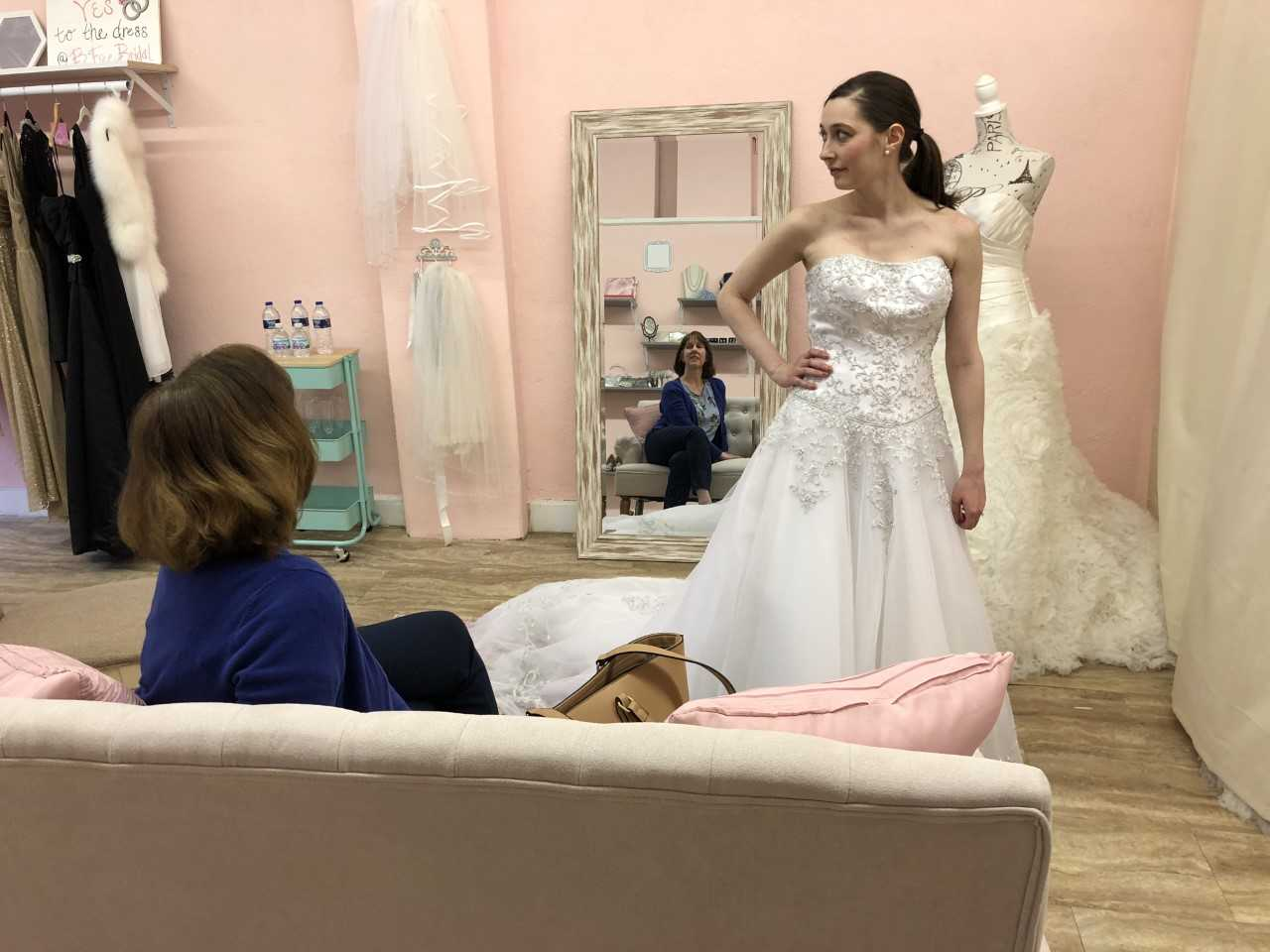 New Lakewood Bridal Shop Sells Once Worn Gowns