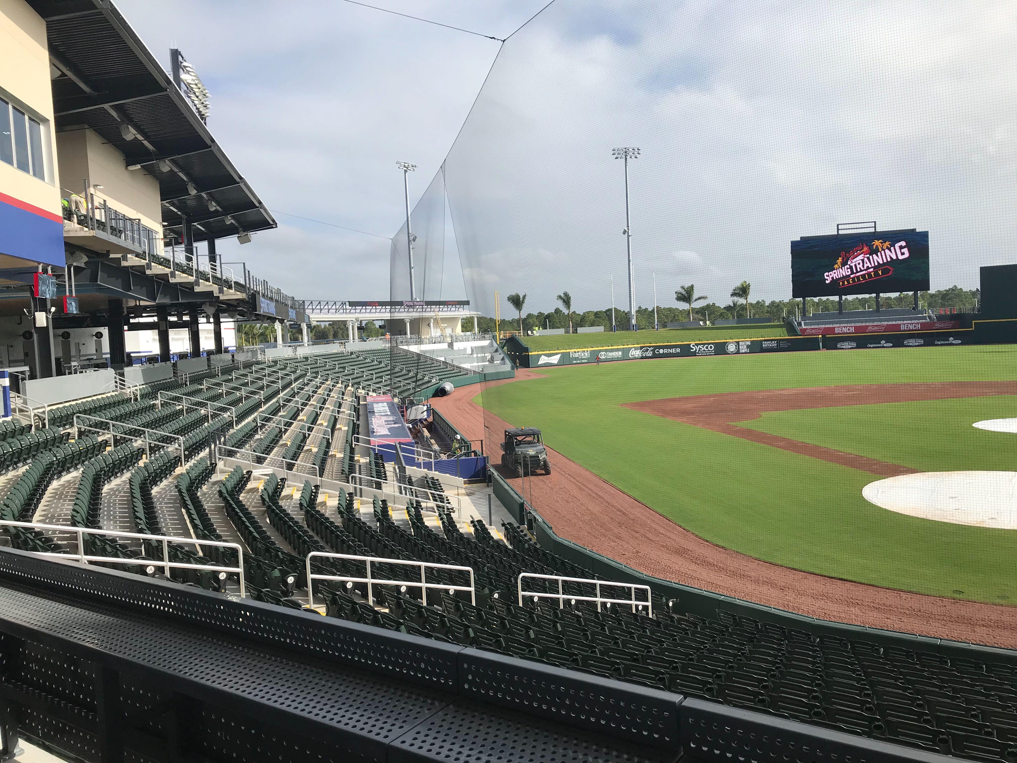 Atlanta Braves Open New Spring Training Home In North Port