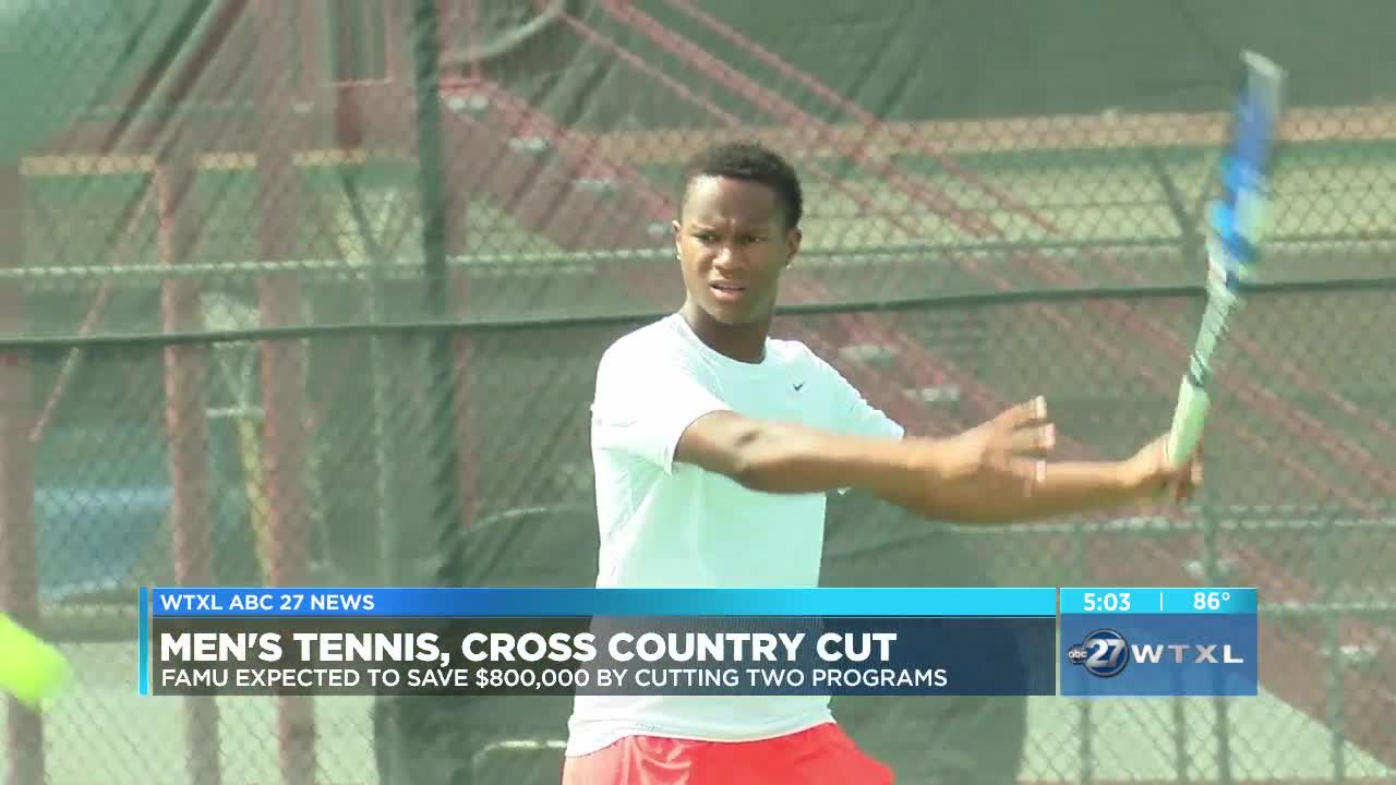 tennis and cross country programs