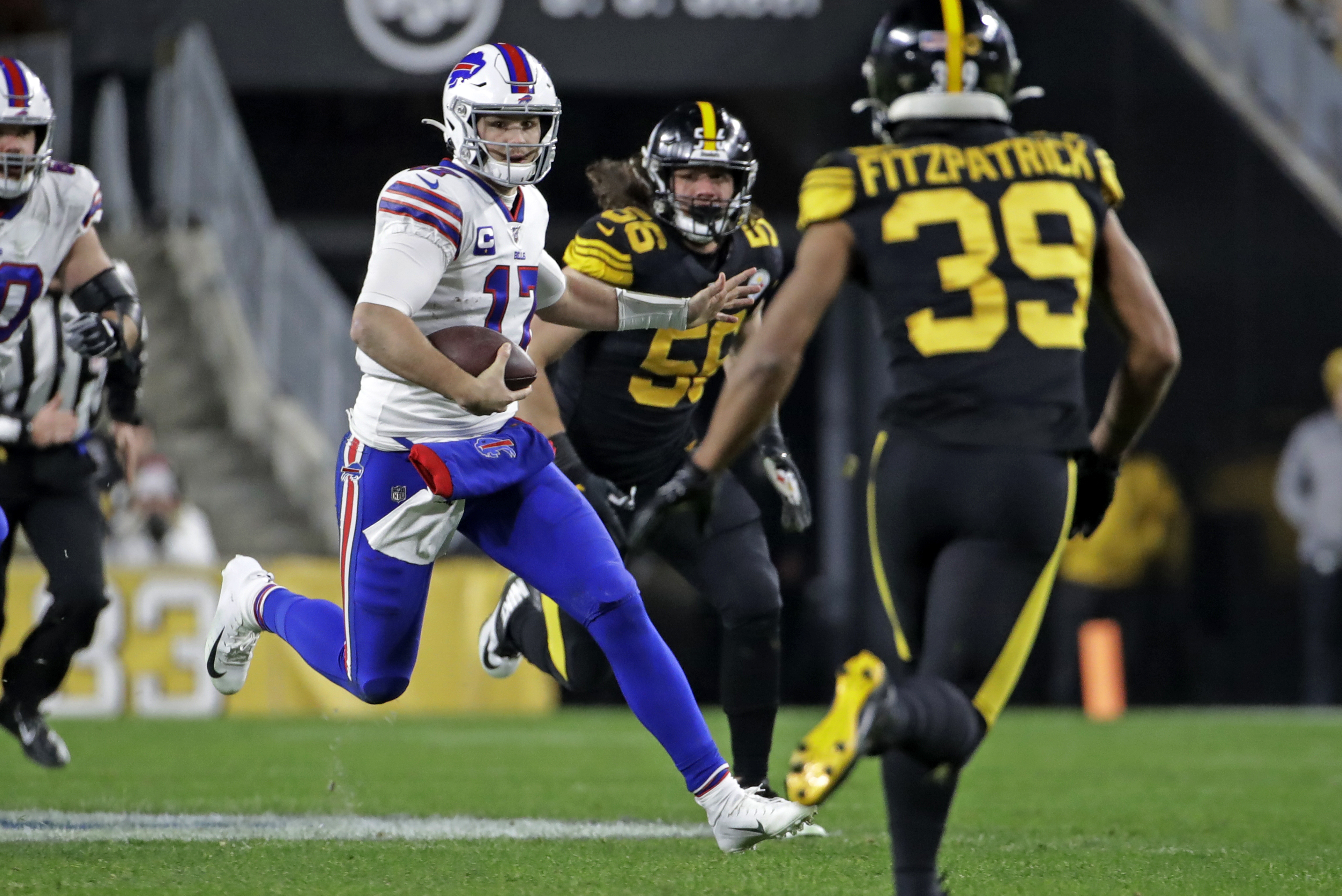 Buffalo Bills topple Pittsburgh Steelers 17-10 to clinch a playoff spot