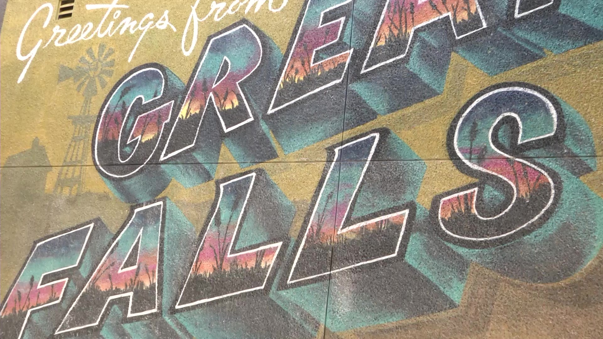 Muralist returns to Great Falls for ArtsFest MONTANA