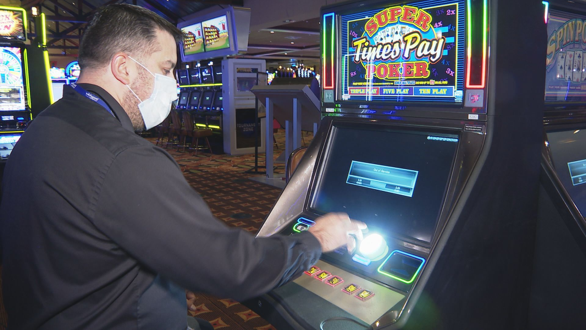 Wildwood Casino implementing new cleaning practices to keep employees,  players safe