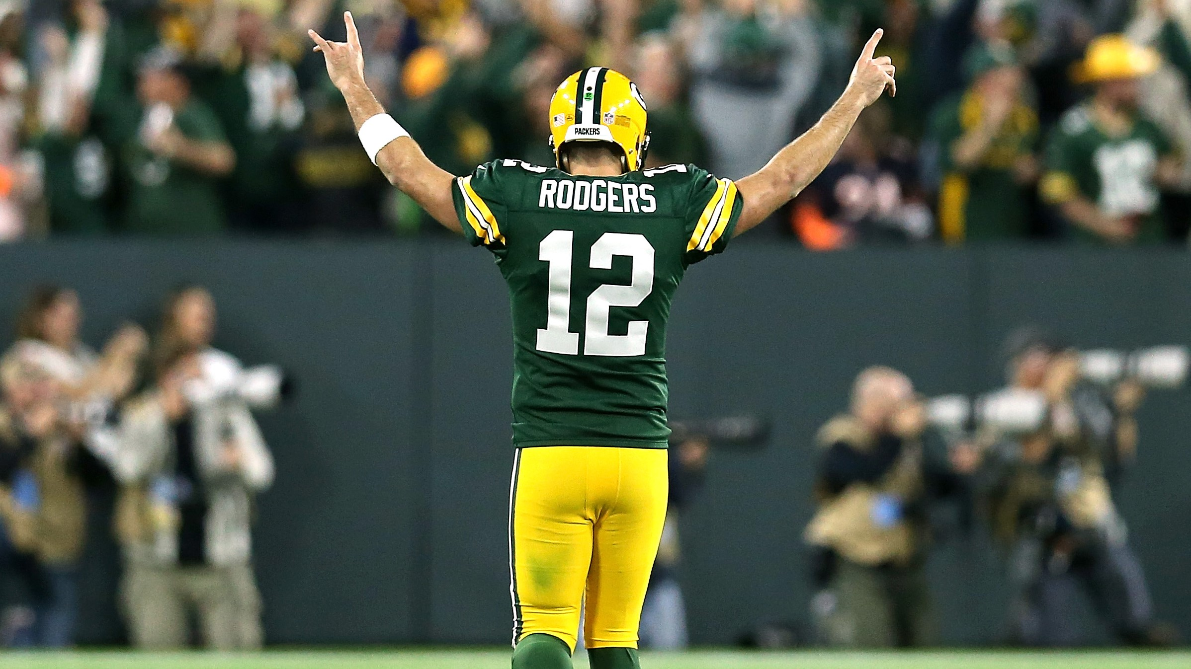 aaron rodgers military jersey