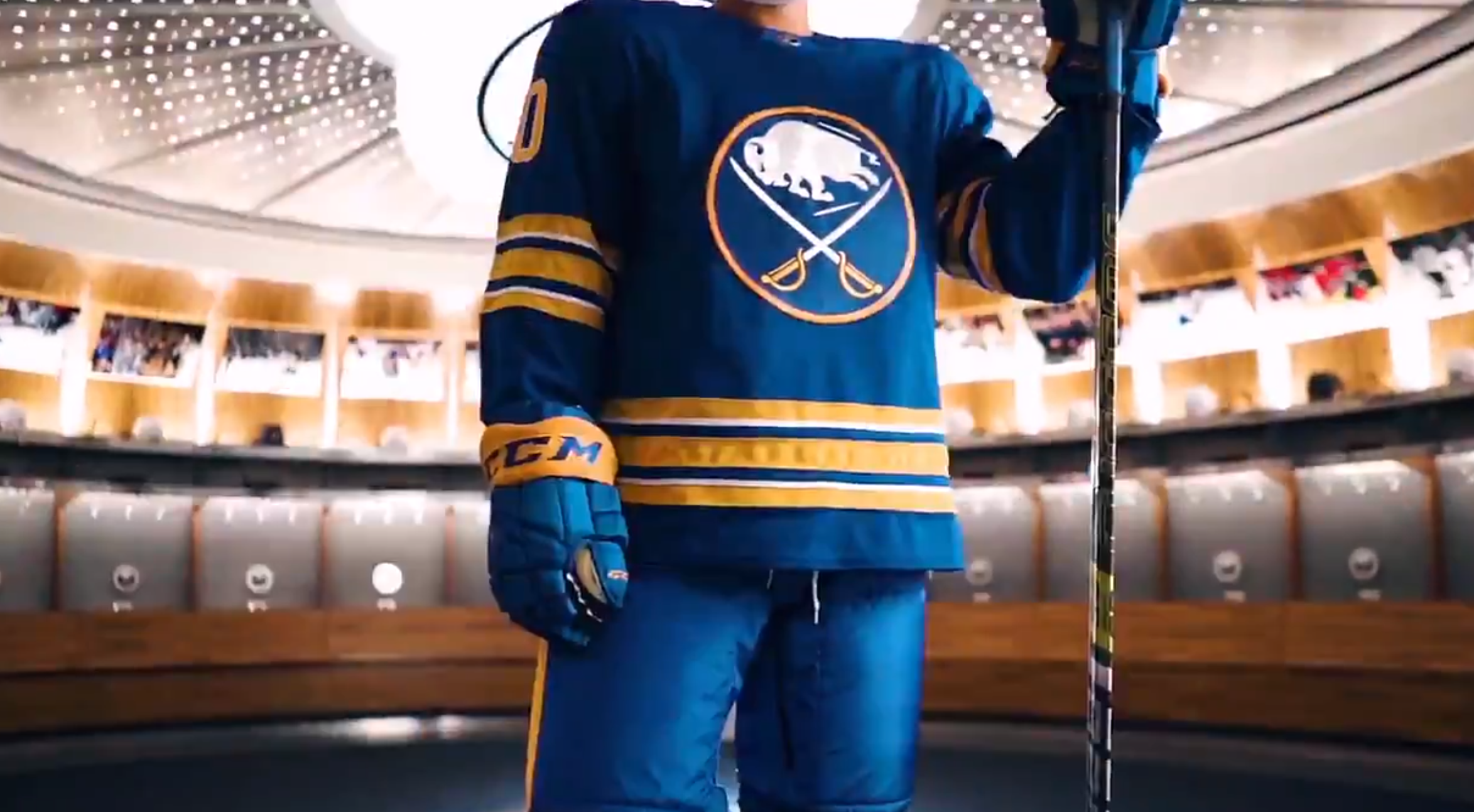 Return to royal blue: Buffalo Sabres unveil new jerseys