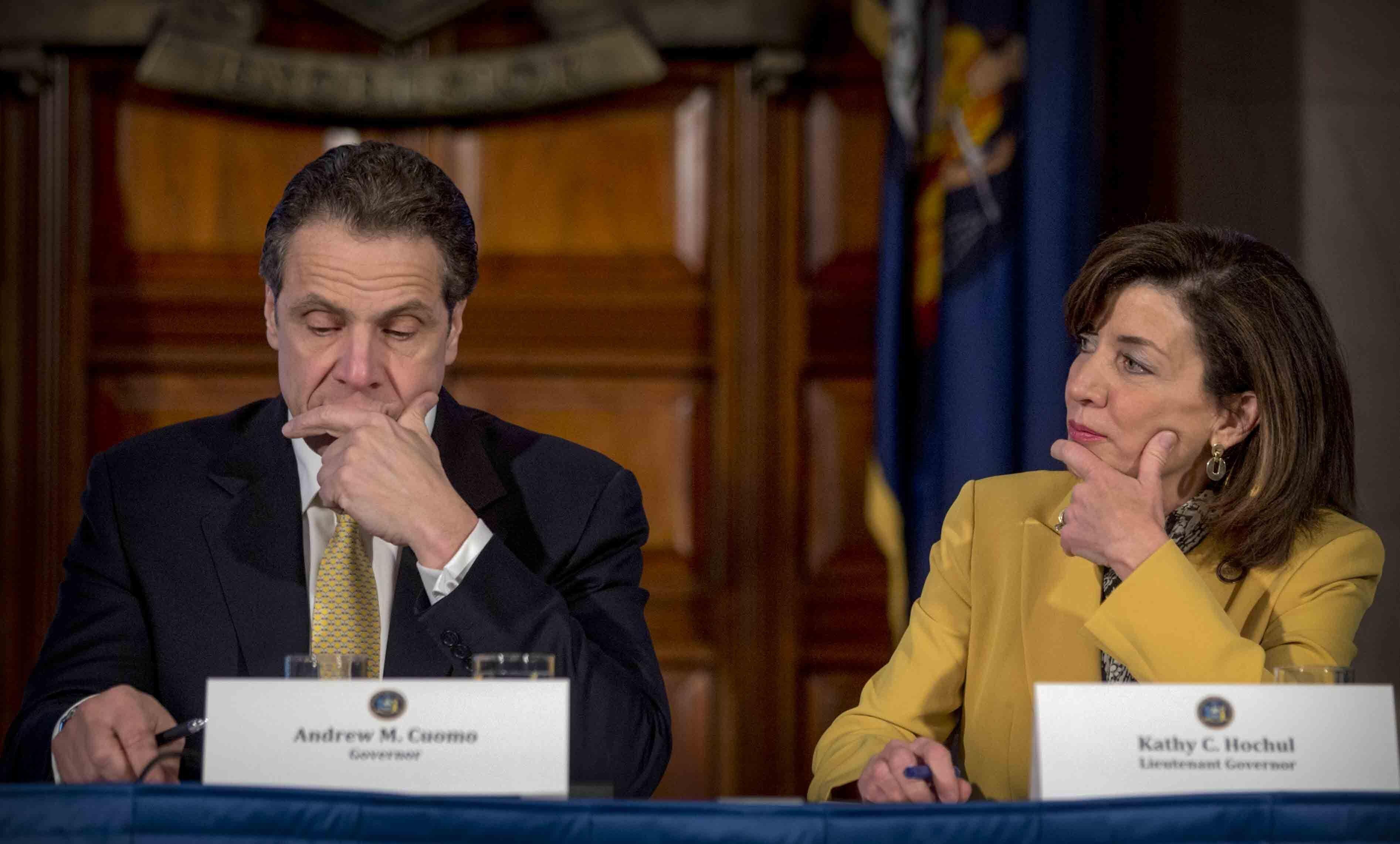 Lieutenant Governor Kathy Hochul responds to Governor Cuomo's resignation
