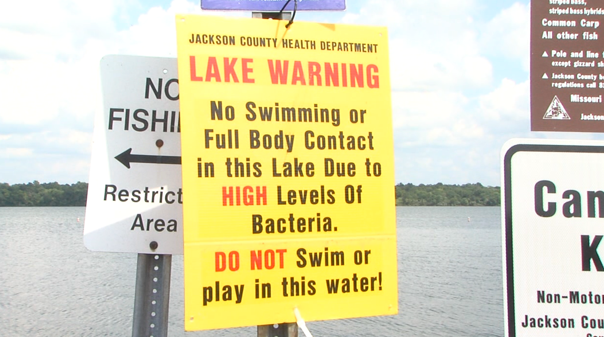Swimming prohibited in some Jackson County lakes due to E