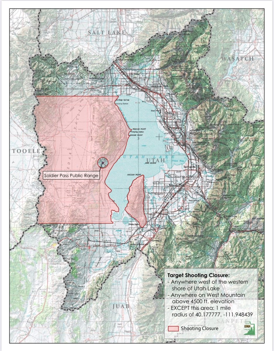 Image of: Target Shooting Prohibited In Two Areas Near Utah Lake Due To Fire Risk