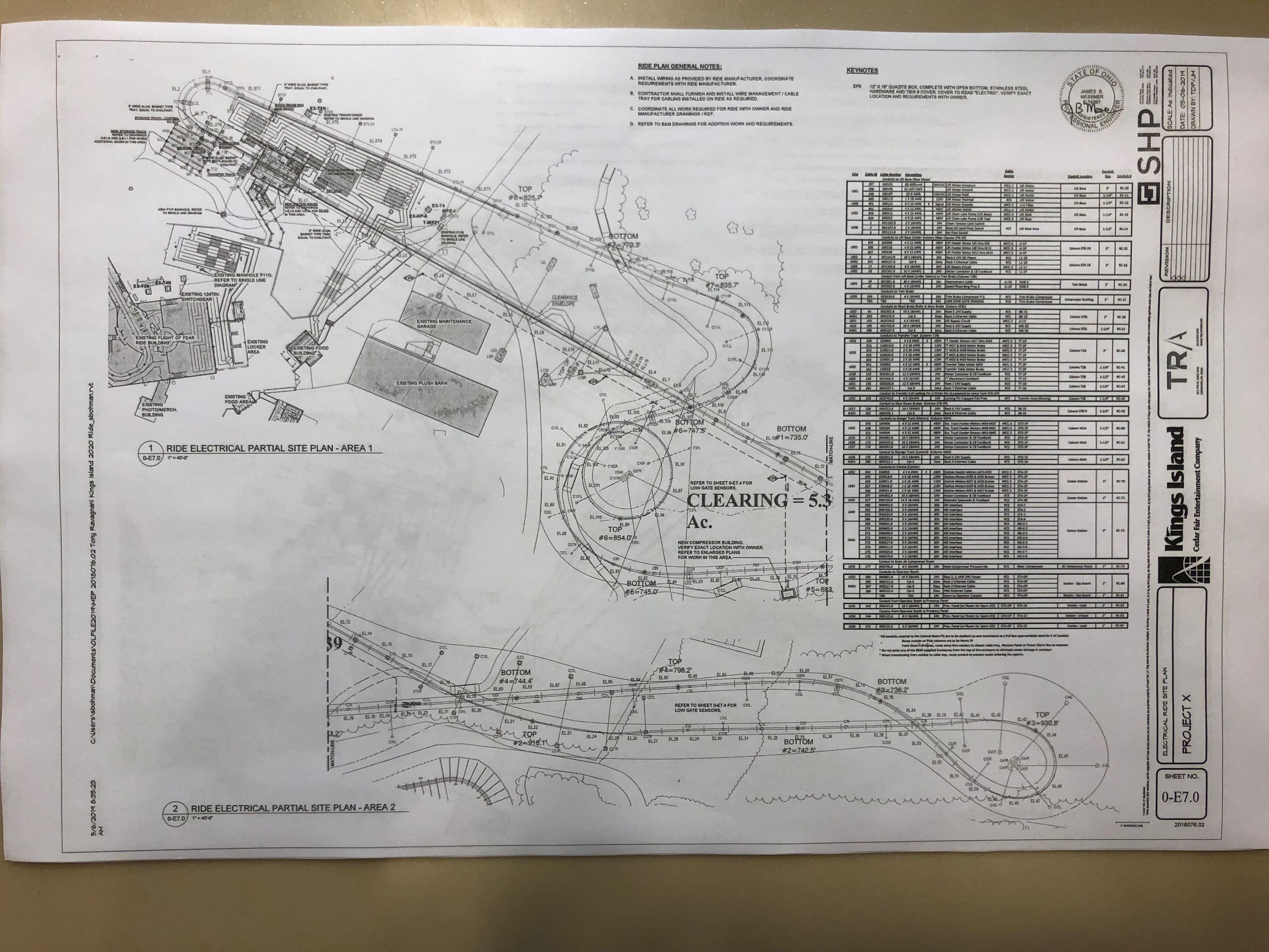 Image result for orion kings island blueprints
