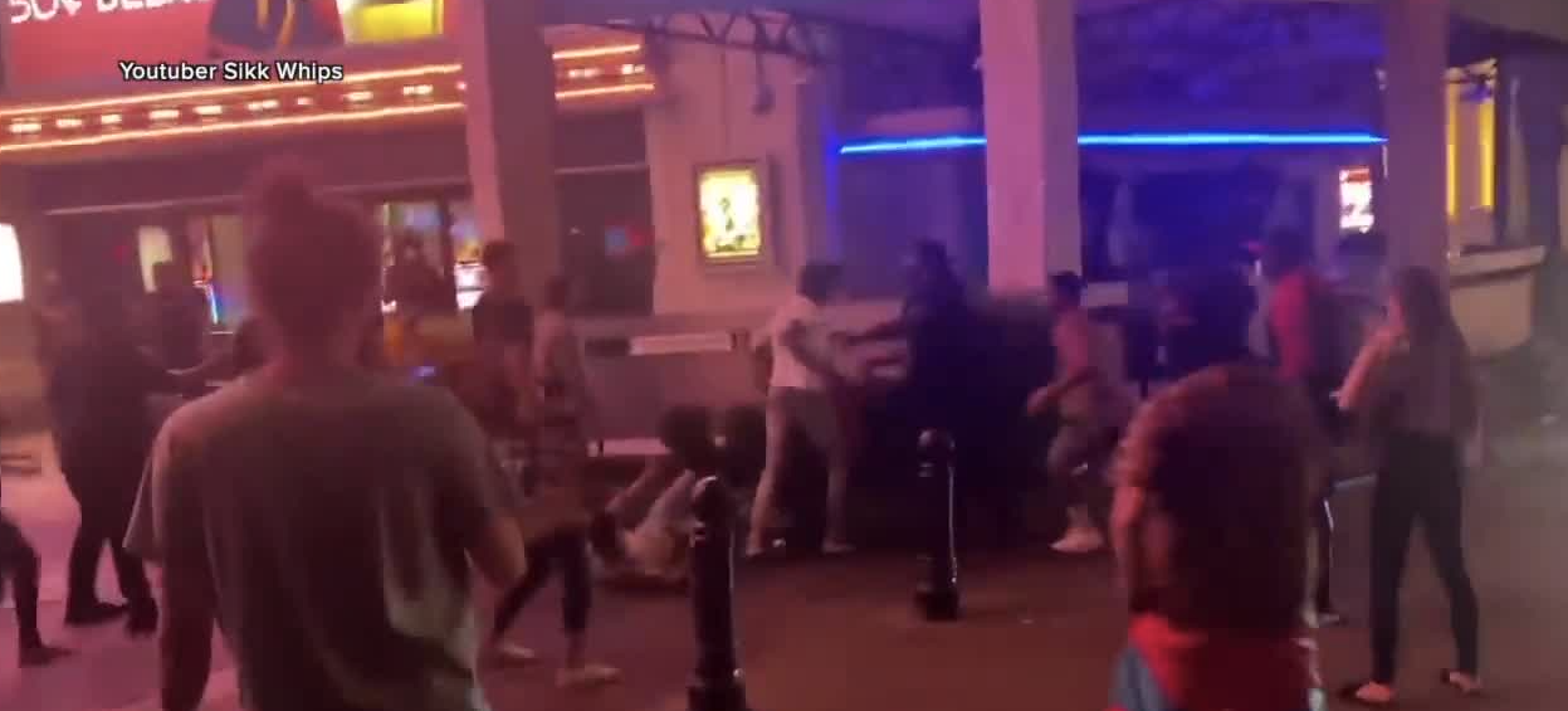 Las Vegas Police Investigate Labor Day Weekend Brawls From Strip Downtown