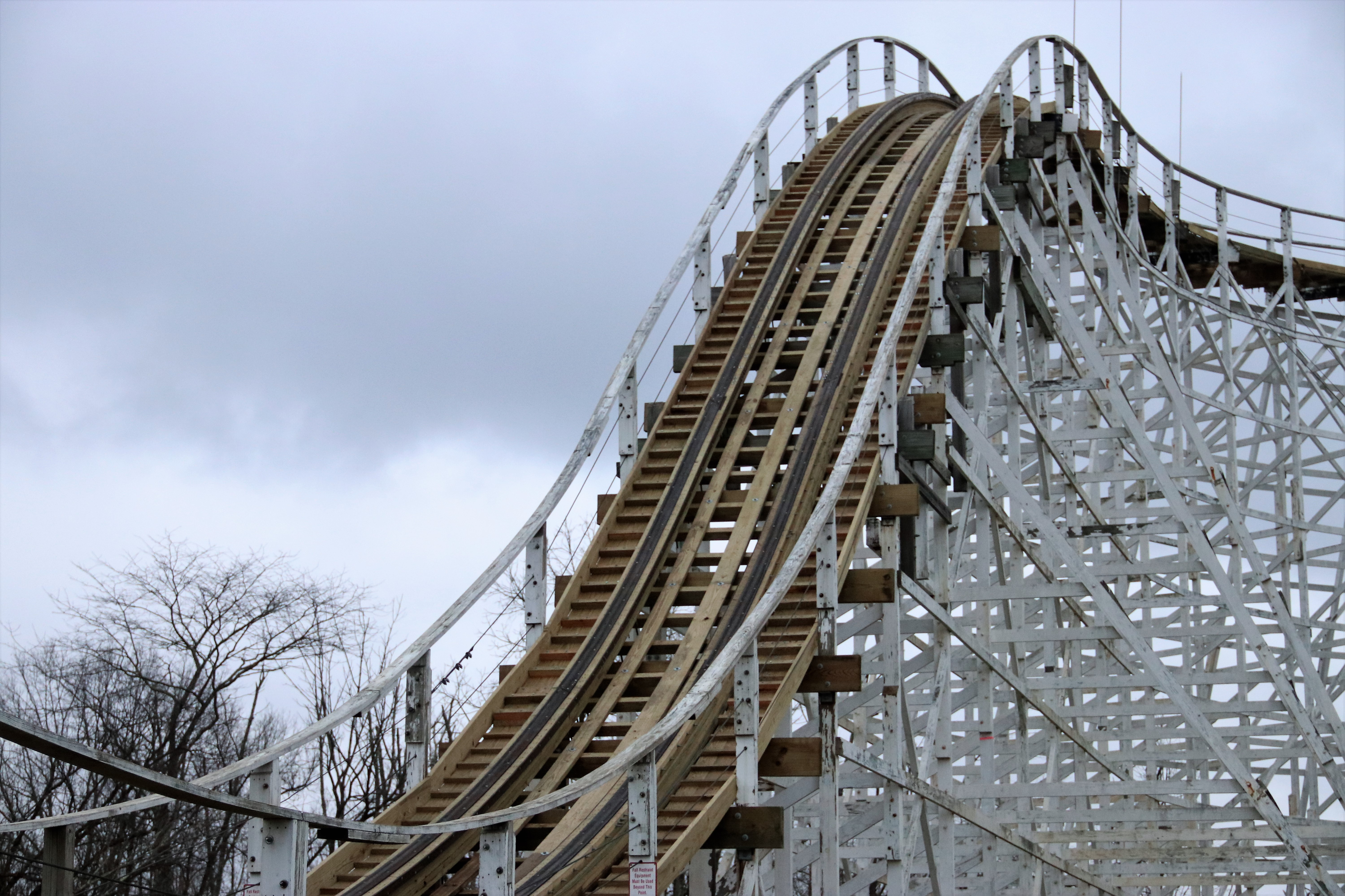 Kings Island Racer coaster getting new track, smoother ride