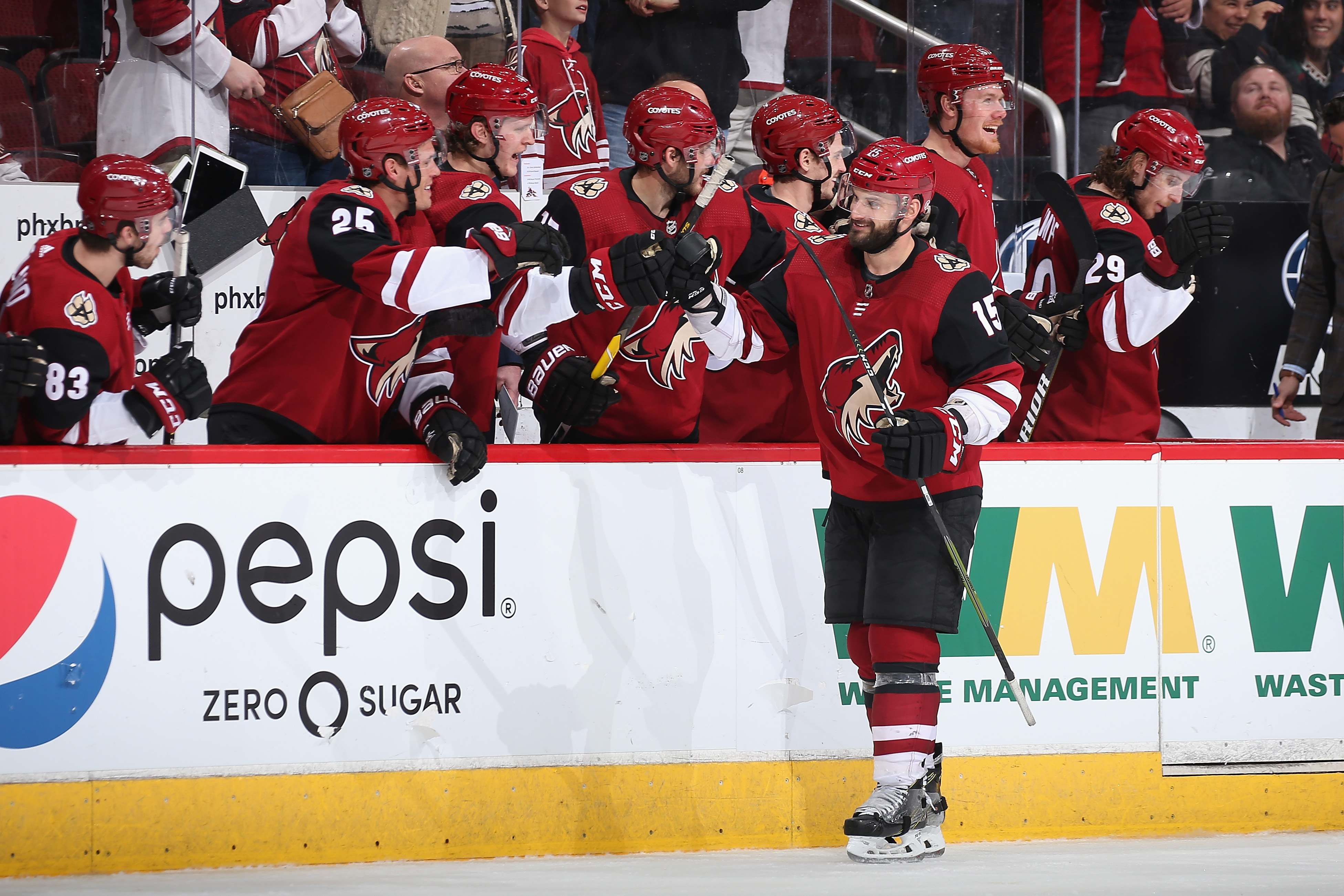 Brad Richardson becomes 1st Coyotes player in 22 years to score 4 ...