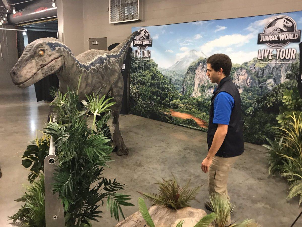 Jurassic World Live Tour brings dinosaurs to life in Kansas