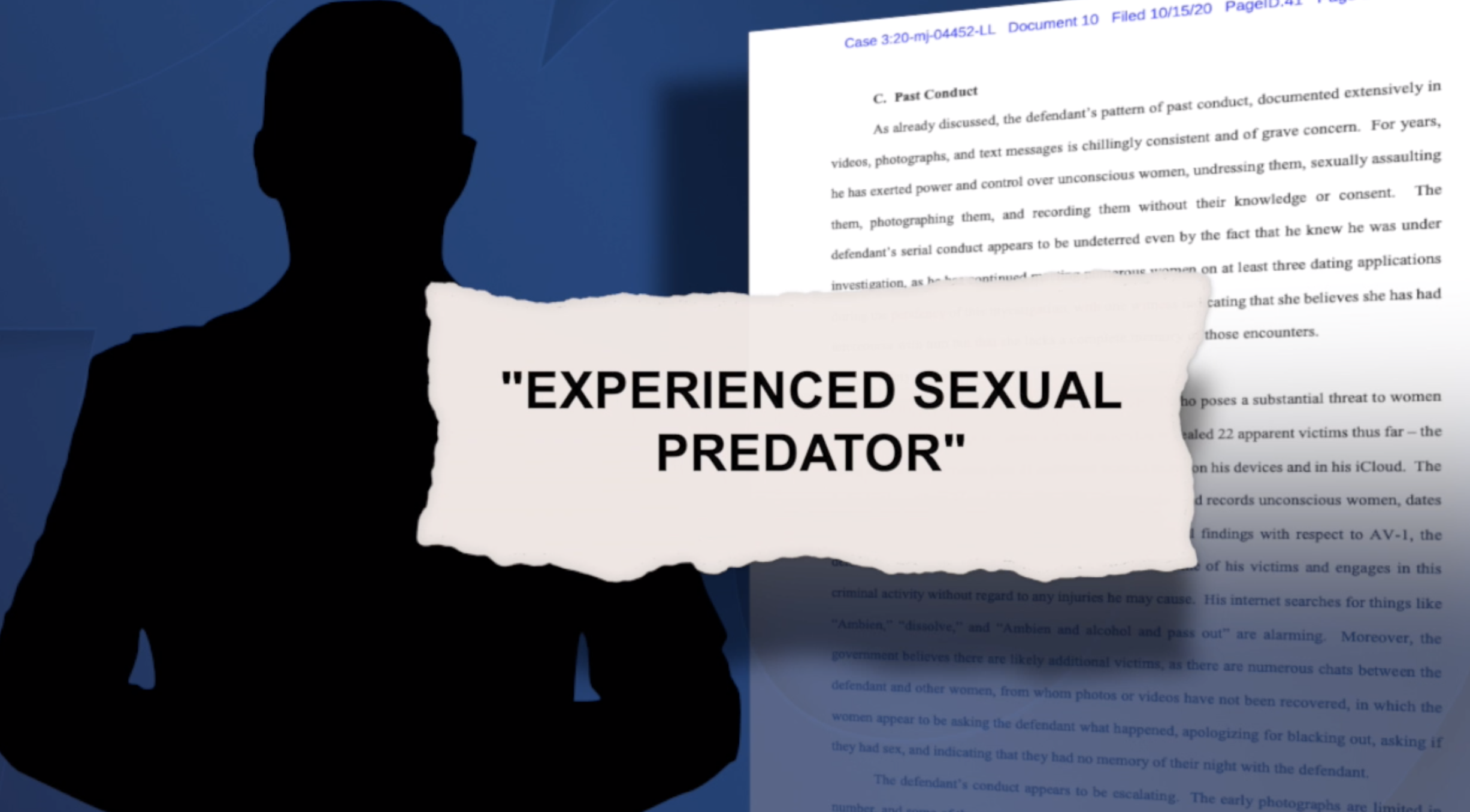 Government employee with SD ties accused of assaulting 20+ women