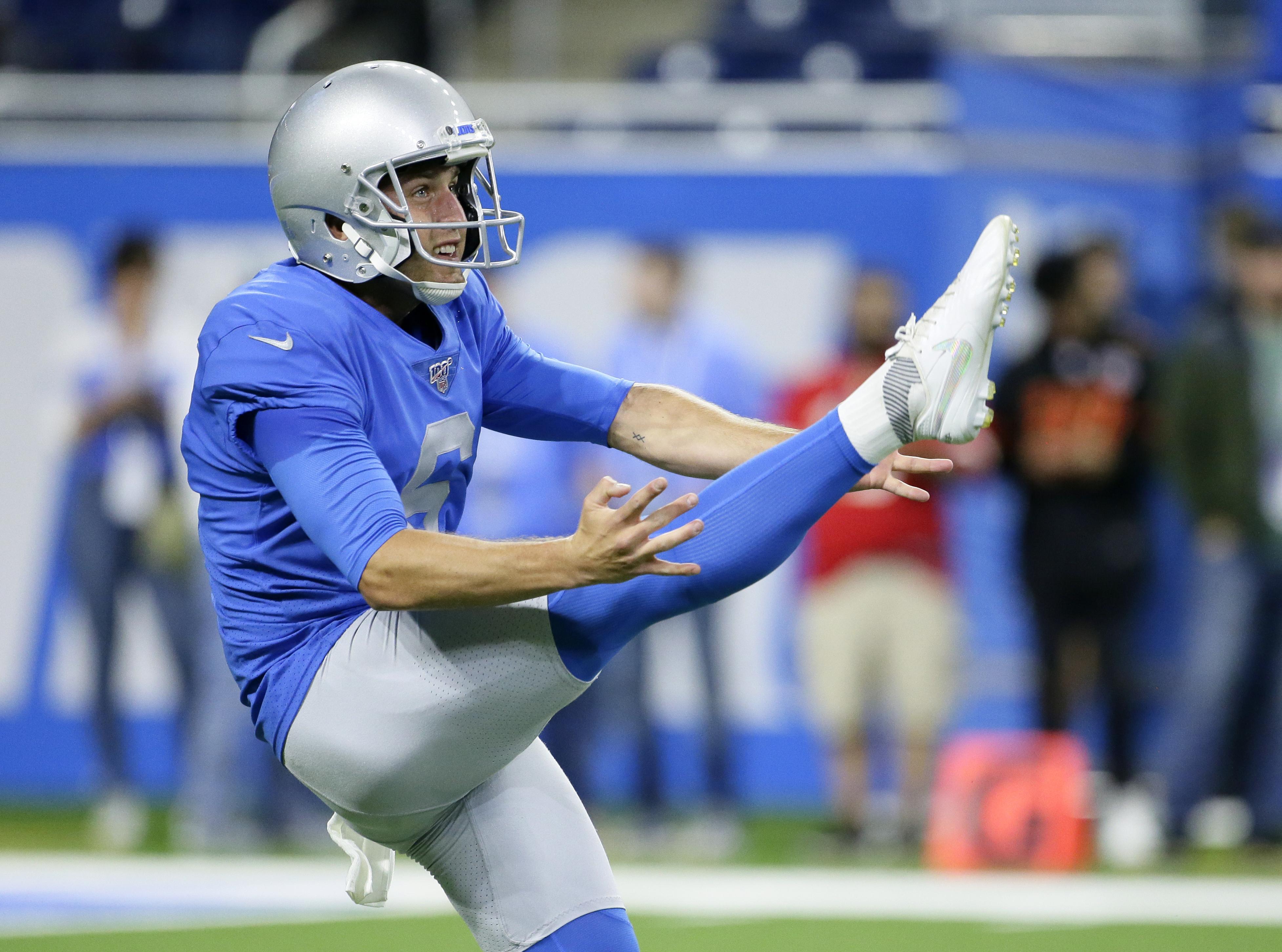 Broncos sign punter Sam Martin to three-year deal