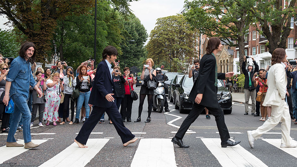Thursday Marks The 50th Anniversary Of The Beatles Crossing Of Abbey Road