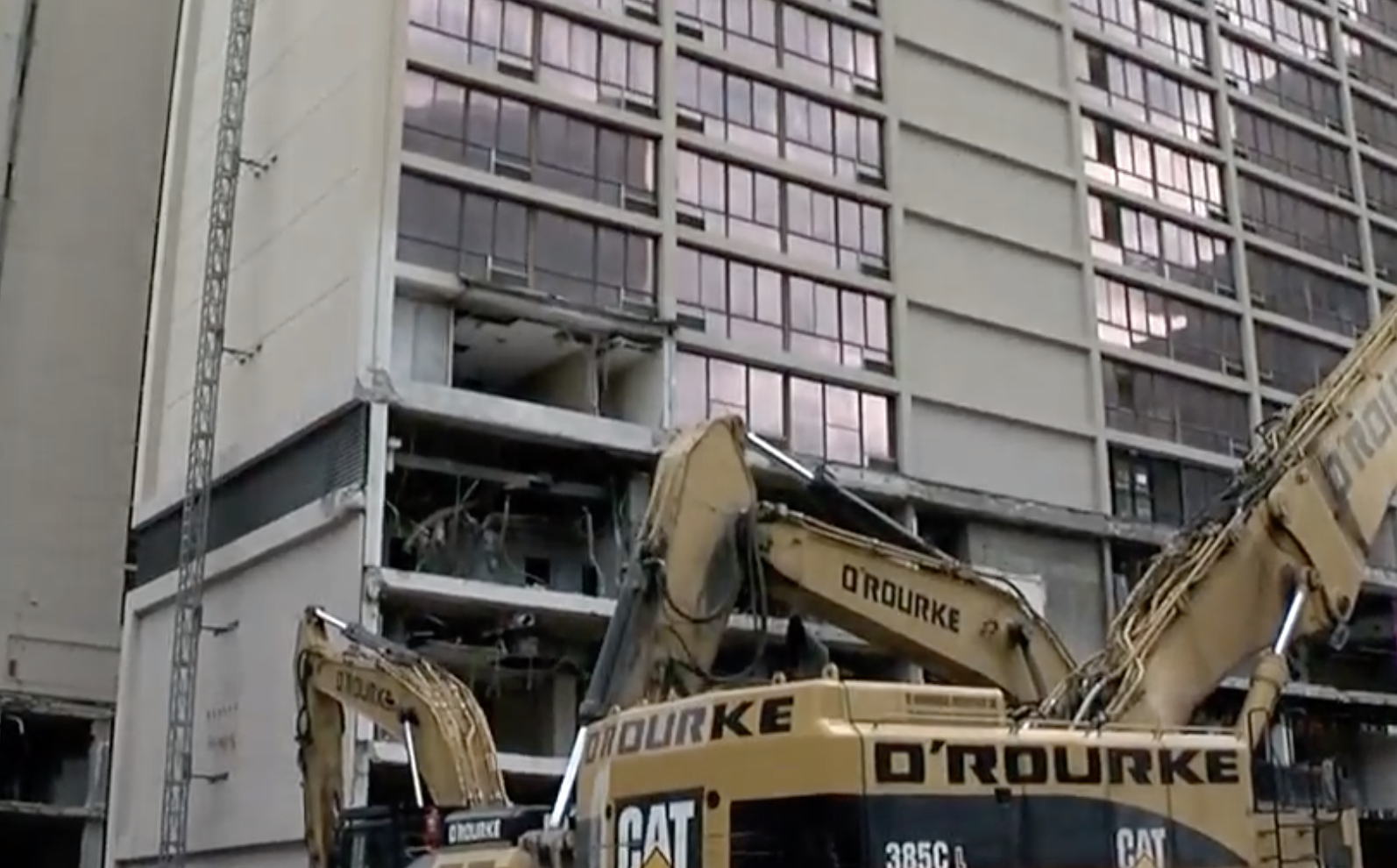 wcpo.com - Kristen Swilley - As the Millennium Hotel comes down, some are looking to the future
