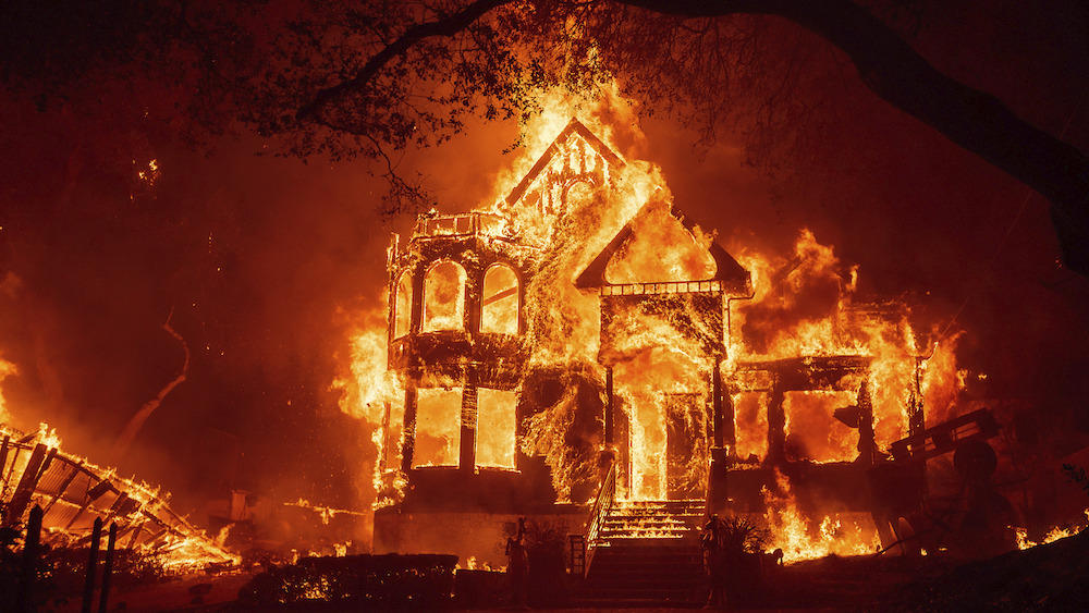 California battling another massive, destructive wildfire