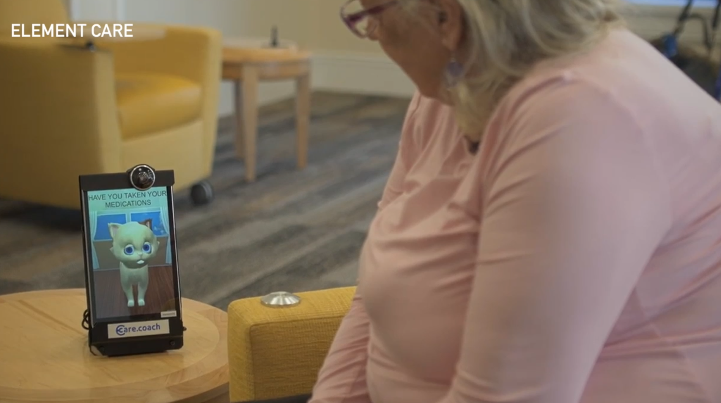 These avatars are helping seniors with medical care