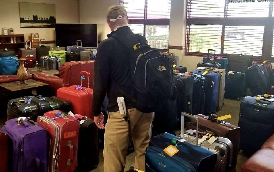 Quarantine concerns at MCAS Miramar : missing luggage , non - existent health checks