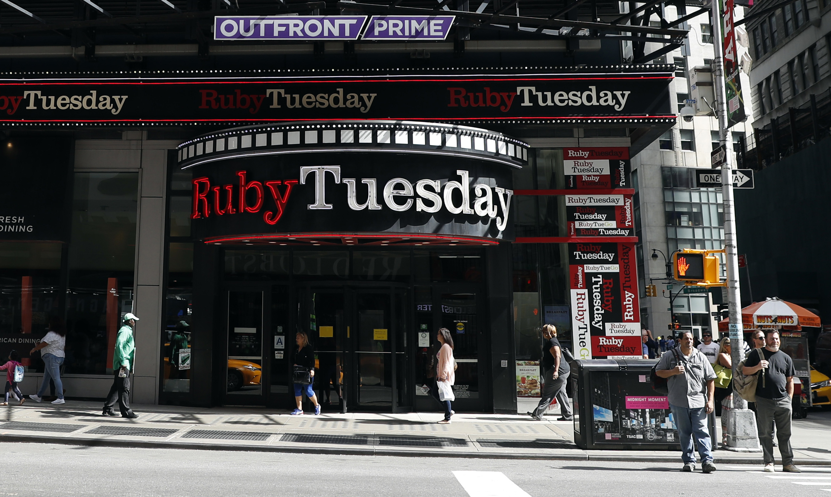 Ruby Tuesday Files for Bankruptcy