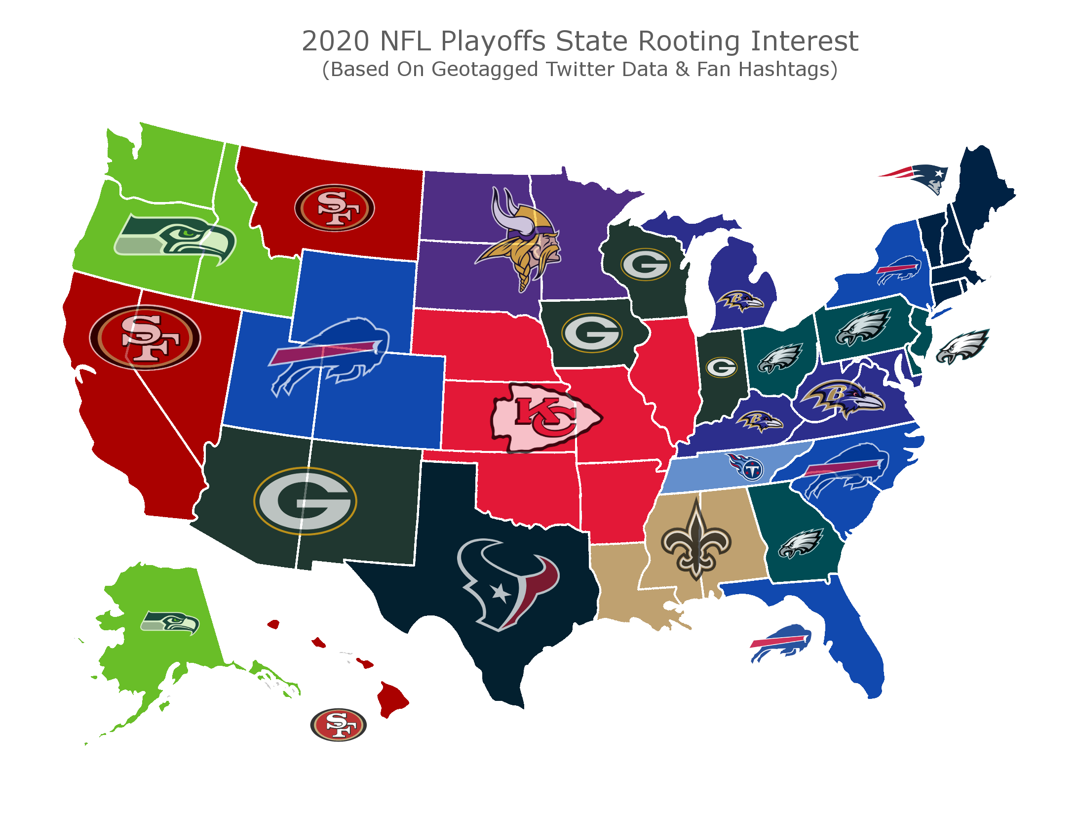 The Buffalo Bills Are America S Team Green Bay Tied For 3rd