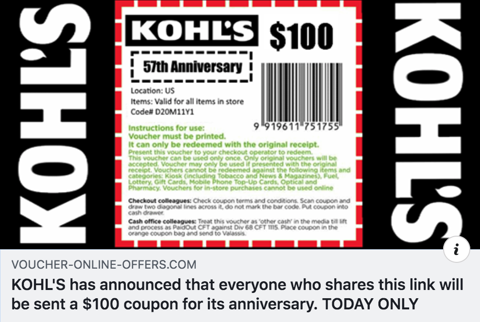 The Kohl S Coupon Scam You Should Know About