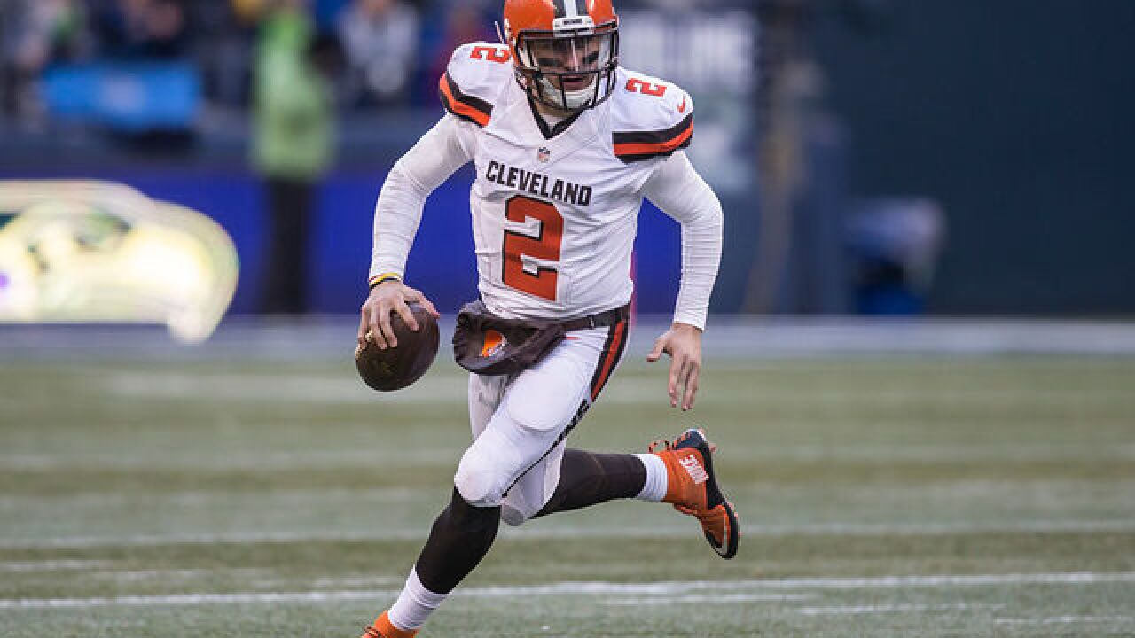 Former Browns quarterback Johnny Manziel to return to football, join the Spring League