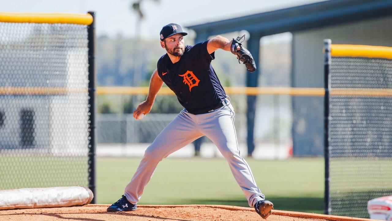 Michael Fulmer Tigers Spring Training
