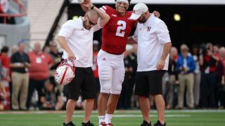 Nebraska coach says play that injured QB might have been dirty