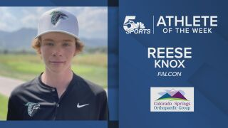KOAA Athlete of the Week: Falcon's Reese Knox