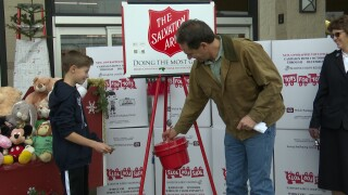 Bullock highlights holiday giving season with Salvation Army, Toys for Tots