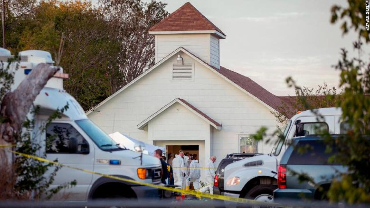 Security becomes a top priority for churches after Texas mass shooting