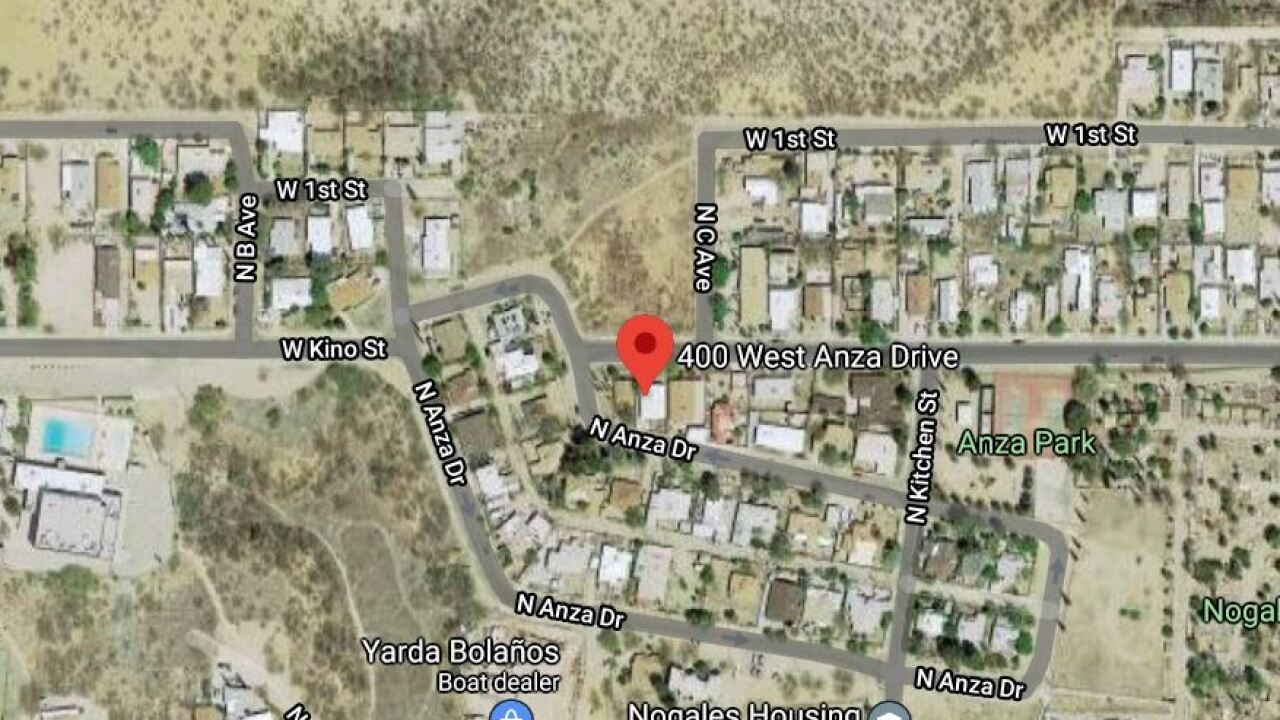 Police say Emily Daniela Casarez of Nogales, Ariz. was found dead with signs of trauma at 7 p.m. Nov. 4 in the 400 block of West Anza Drive in Nogales, Ariz. Photo via Google Maps.